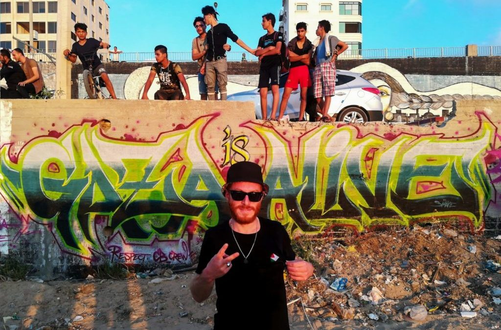 Day 5   Gaza is Alive alla rampa di Gaza Freestyle Festival